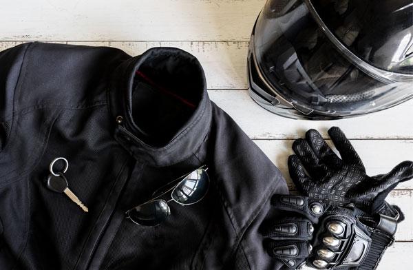 Équipement de moto