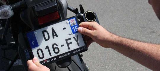 Immatriculer sa moto
